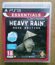 Heavy Rain -- Move Edition (Platinum) (Sony PlayStation 3, 2010) - European...
