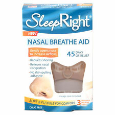 SleepRight Nasal Breathe Aid (3 Pack) 45 day supply