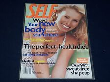 2000 AUGUST SELF MAGAZINE - NIKI TAYLOR - BEAUTIFUL FRONT COVER - O 451G