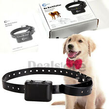 Waterproof Rechargeable SMALL MEDIUM LARGE ANTI BARK NO BARKING DOG SHOCK COLLAR