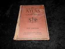 The New World Atlas and Gazetteer 1921 Edition