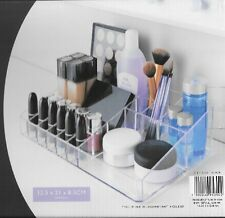 Clear Acrylic Make up Box Organiser Cosmetic Display Storage Jewellery Case