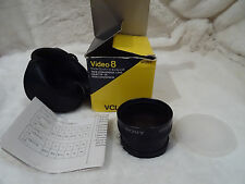 new  Sony VCL-0746C Wide Conversion LENS X0.7 Made in Japan