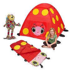 Mollie Kids' Tent Sleeping Bag and Lizzy Lion by Melissa and Doug Free Shipping!