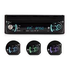 "AUNA Autoradio Bluetooth Monoceiver USB Touch Screen Monitor Estraibile 18cm 7"""