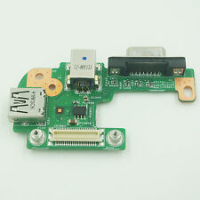 For Dell Inspiron N5110 DC Power Jack DQ15DN15 CRT VGA USB Board 48.4IF05.011
