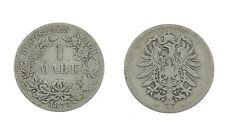 1 Mark 1873 D - Silber - Original Münze