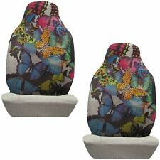Butterflies Crystal Studded Rhinestone Seat Covers Pair