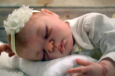 Beautiful Realistic Reborn Baby Girl Leigh (Serah Sculpt)