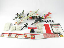 Transformers G1 Superion Complete Silverbolt Skydive Air Raid Fireflight Takara