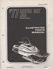 1977 ARCTIC CAT SNOWMOBILE JAG 340 P/N 0185-075 PARTS MANUAL (051)