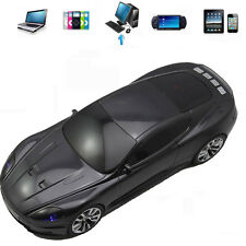 Car Shape FM Radio USB Disk Micro SD TF Card MP3 Player Speaker For PC iPod CC