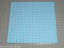 LEGO FRIENDS Bright Light Blue baseplate 91405 / 41058 3061 3188 41007 41108 ...