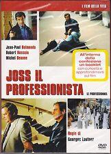 Dvd **JOSS IL PROFESSIONISTA** con Jean Paul Belmondo slipcase nuovo 1982