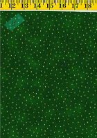 Luxury Blenders Metallic Dots Cotton Quilt Fabric by P&B Textiles 381- Green BTY