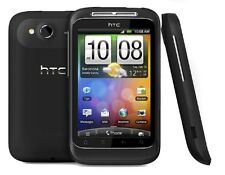 HTC Wildfire S - Black (Unlocked) Smartphone Mobile Phone