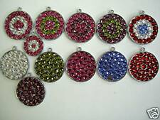 Pet ID Tag Swarovski Rhinestone Dog Cat Tag Large