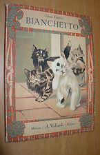 GUIDO FABIANI BIANCHETTO 5 ILLUSTRAZIONI MARIO NORFINI A.VALLARDI EDITORE 1941