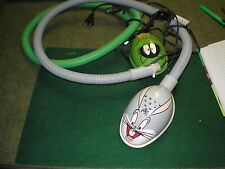 Bugs Bunny Marvin The Martian Reading 2 lamps Looney Toons Vg