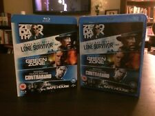 Zero Dark Thirty, Lone Survivor, Green Zone, Contraband, Safe House Blu-Ray Set
