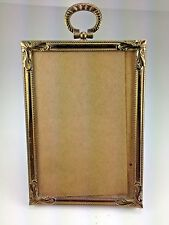Vintage 1940's  Gold Tone Picture Frame