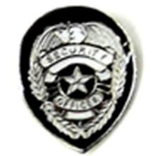 SECURITY BADGE HAT OR JACKET PIN pin331 new jacket lapel metal officer secure