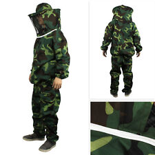 Jacket Pants Veil Bee Protecting Dress Camouflage Beekeeping Suit Protective New