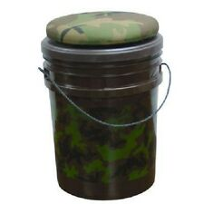Camo Swivel Bucket Seat Padded Spinning Top Pigeon shooting Hunting Decoying New