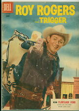 Dell Comic Roy Rogers #94 Photo Cover VGF