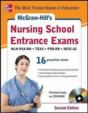 McGraw-Hill's Nursing School Entrance Exams with CD-ROM, 2nd Edition: Strategies