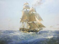 Geoff Hunt Limited Edition Print - H.M.S. Surprise, On the Far Side of the World