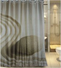Europe latest generation hookless design fabric shower curtain new free shipping