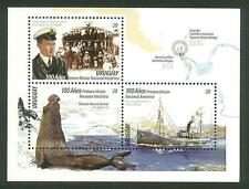 2016 URUGUAY ANTARCTIC EXPLORER SHACKLETON RESCUE SHIP BOAT SEAL UNIFORM MNH