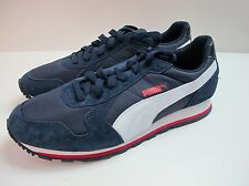 Mens Puma St Runner Navy White Trainers Lace Up Trainers Uk 10 Eur 44.5