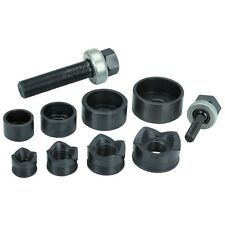 Carbon Steel Knockout Punch Kit Put Holes in Steel Aluminum Fiberglass Plastic!