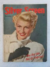 SILVER SCREEN Magazine RITA HAYWORTH Cover November 1947 Vol. 18, No. 1