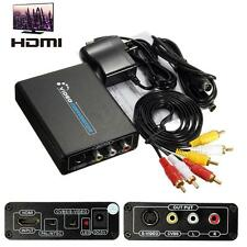 HDMI to S-Video CVBS 3RCA AV Composite R/L Audio Adapter Converter HDTV 1080p HD