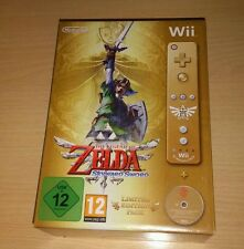 THE LEGEND OF ZELDA SKYWARD SWORD LIMITED EDITION NINTENDO WII PRECINTADO SEALED