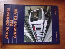 8ùµ?  RGCF Revue Generale Chemin Fer 3/1996 Autorail 600ch Banc Vitry / Seine