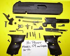 HI POINT C 9 MM SLIDE BARREL GRIPS SIGHT ALL PARTS PICTURED 4 ONE PRICE # 16-12