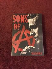 Sons Of Anarchy Season Six Dvd 5 Disc Set