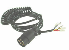 7 Pin Ifor Williams type 4m Trailer Lighting Connecting Lead 7 core