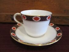 """ROYAL CROWN DERBY AMBASSADOR CUP AND SAUCER - 2 3/4"""""""