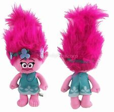 "Dreamworks Trolls Princess Poppy Plush Toy 12"" Stuffed Animal Toy"