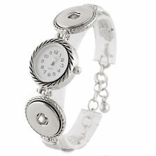 Premier Edition Single Snap Watch Bracelet For Snap it Button Charms