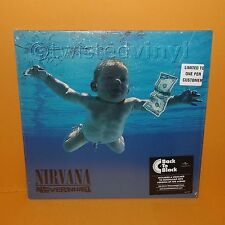 "2008 DGC SUB POP RECORDS NIRVANA - NEVERMIND 12"" LP ALBUM VINYL 180g REISSUE"