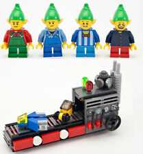NEW LEGO Santa's Workshop TOY MACHINE & 4 ELVES set 10245 elf minifig christmas