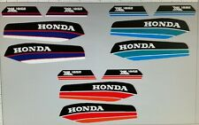 HONDA XL125S XL185S  MODEL  PAINTWORK DECAL KIT