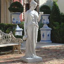 Greek Olympian Gods Hebe the Goddess of Eternal Beauty Youth Large Garden Statue
