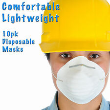 OX Tools 10pk Face Mask Disposable Safety Dust Painting Respirator Trade DIY